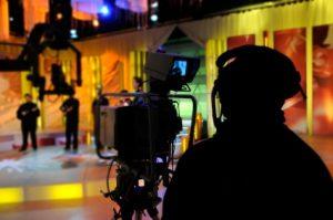 video production company crew