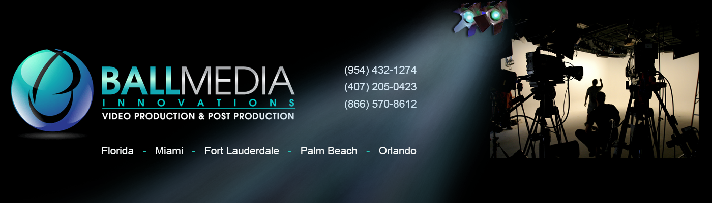 Ball Media Innovations Video Production, Post Production and Video Translation