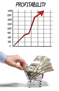 South Florida video production company profits chart