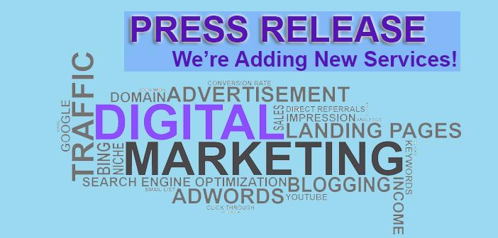 Press release digital marketing services seo Miami