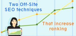 seo off-site increase website ranking