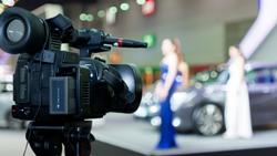 video news release Orlando Florida crew shoot camera