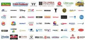 Miami video production company Ball Media Client logos